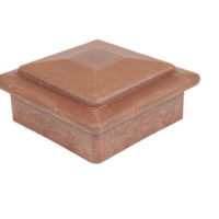best deck composite wood acacia brown ballustrade post cap