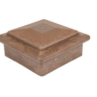 best deck composite wood coffee brown ballustrade post cap
