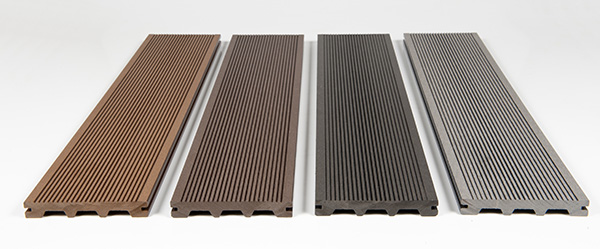 Composite Grooved Decking Planks
