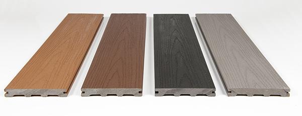 Solid Wood Grain Deck Planks