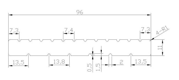 Profile Dimensions and Technical Information