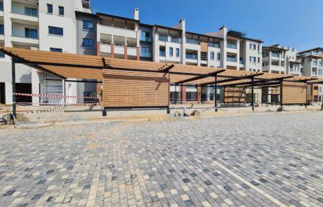 Composite Wood Pergolas
